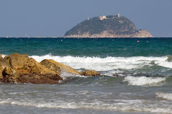 Ligurian sea Stock Photography