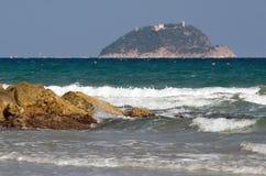 Ligurian sea Stock Photography