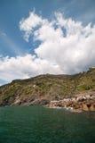 Ligurian sea coast, Italy. Ligurian sea coast, Cinque Terre,  Italy Stock Image