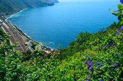 Ligurian Sea View Royalty Free Stock Image