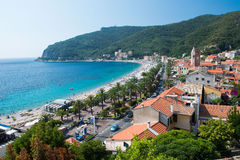 The ligurian village of Noli Royalty Free Stock Photos