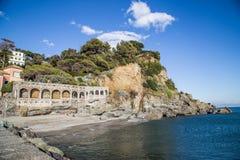 Ligurien, Italien Lizenzfreies Stockbild