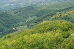 Ligurier Apennines stockfoto