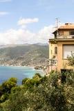 Ligurier Küste Lizenzfreies Stockbild