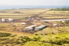 Lihue, Kauai - 10 mai 2017 : Petit aéroport sur Kauai Image libre de droits