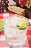 Liime spritzer Stock Photo