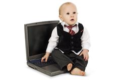 Liitle Business Man stock images