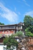Lijiang的中心,中国 免版税库存照片