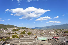 Lijiang老城镇在中国 免版税库存图片