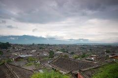 Lijiang老城镇,云南,中国 免版税库存图片