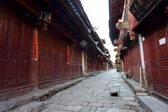 Lijiang老城镇,科教文组织世界遗产。 免版税库存图片
