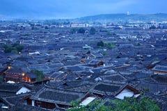 lijiang老城镇 图库摄影