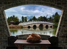 lijiang风景视图 免版税库存照片