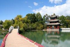 Lijiang黑色龙池 免版税图库摄影