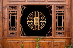 Lijiang, κατοικημένα κάγκελα οδών Yunnan Shuhe Στοκ Εικόνα