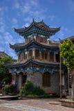 Lijiang, улица древнего города Юньнань Shuhe Стоковые Изображения RF