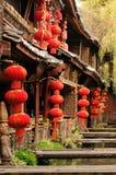 瓷lijiang 免版税图库摄影