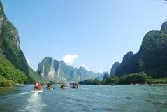 Ποταμός της Κίνας Lijiang στοκ φωτογραφία με δικαίωμα ελεύθερης χρήσης