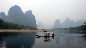 lijiang河 库存照片