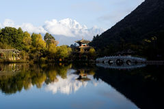 Lijiang. City is very beautiful stock photography