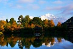lijiang河 免版税库存照片
