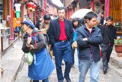 Lijiang alte Stadt Stockbild