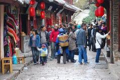 Lijiang alte Stadt Stockfotografie