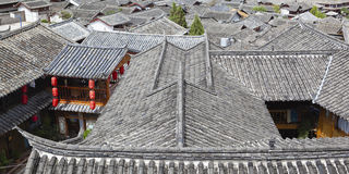 Lijiang: the ancient town of dayan Royalty Free Stock Photo
