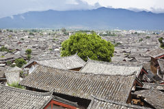 Lijiang: the ancient town of dayan Royalty Free Stock Image