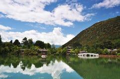 Lijiang Black Dragon Pool Stock Photo
