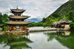 Lijiang budynki i Obraz Stock