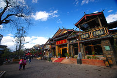 LIJIANG, CHINA Stock Afbeeldingen