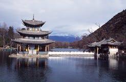 Free Lijiang,china: Black Dragon Pool Pagoda Royalty Free Stock Photography - 34575847