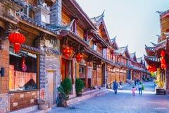 Free Lijiang, China - March 12, 2015: Lijiang Old Town Dayan, Biggest And Very Famous Ancient Town In Lijiang City, Yunnan, China Royalty Free Stock Photography - 138085747