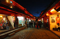 LIJIANG, CHINA. MARCH 21 : LIJIANG old town on March 21, 2008 in, Lijiang,Yunnan, China. One of the famous China's tourism destination Stock Photo