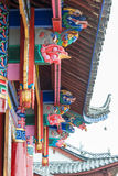 LIJIANG, CHINE - 7 SEPTEMBRE 2014 : Monastère de Fuguo un monastère célèbre Images stock