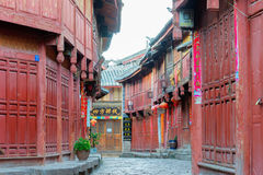 LIJIANG, CHINE - 8 SEPTEMBRE 2014 : Vieille ville de Lijiang& x28 ; Monde de l'UNESCO il Photo libre de droits
