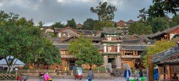 LIJIANG, CHINE - 8 SEPTEMBRE 2014 : Vieille ville de Lijiang (monde de l'UNESCO il Photos stock