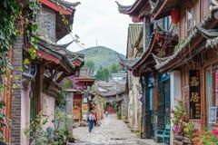 LIJIANG, CHINE - 8 SEPTEMBRE 2014 : Vieille ville de Lijiang (monde de l'UNESCO il Photo stock