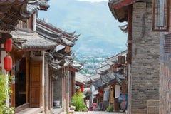LIJIANG, CHINE - 5 SEPTEMBRE 2014 : Vieille ville de Lijiang (monde de l'UNESCO il Images stock