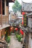 LIJIANG, CHINE - 6 SEPTEMBRE 2014 : Vieille ville de Shuhe (heritag du monde de l'UNESCO Photographie stock