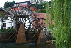 Lijiang Chine - une première ville de touristes Image libre de droits