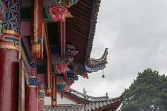 LIJIANG CHINY, SEP, - 7 2014: Fuguo monaster sławny monaster Zdjęcie Royalty Free