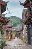 LIJIANG CHINY, SEP, - 8 2014: Stary miasteczko Lijiang& x28; UNESCO świat on Zdjęcie Stock
