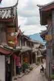 LIJIANG CHINY, SEP, - 5 2014: Stary miasteczko Lijiang& x28; UNESCO świat on Obraz Stock