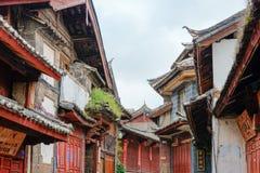 LIJIANG CHINY, SEP, - 8 2014: Stary miasteczko Lijiang& x28; UNESCO świat on Obraz Stock