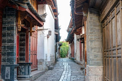 LIJIANG CHINY, SEP, - 8 2014: Stary miasteczko Lijiang (UNESCO świat on Fotografia Royalty Free