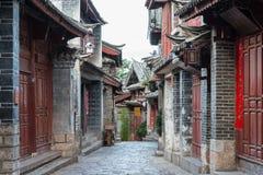 LIJIANG CHINY, SEP, - 8 2014: Stary miasteczko Lijiang (UNESCO świat on Zdjęcie Royalty Free