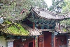 LIJIANG CHINY, SEP, - 6 2014: Yufeng Lamasery sławny monaster Obrazy Stock