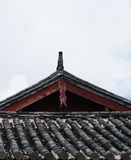Lijiang dach Obrazy Stock